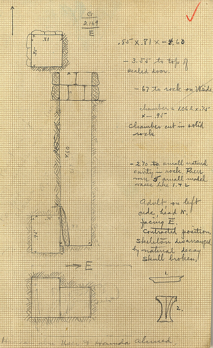 Maps and plans: G 2169, Shaft E