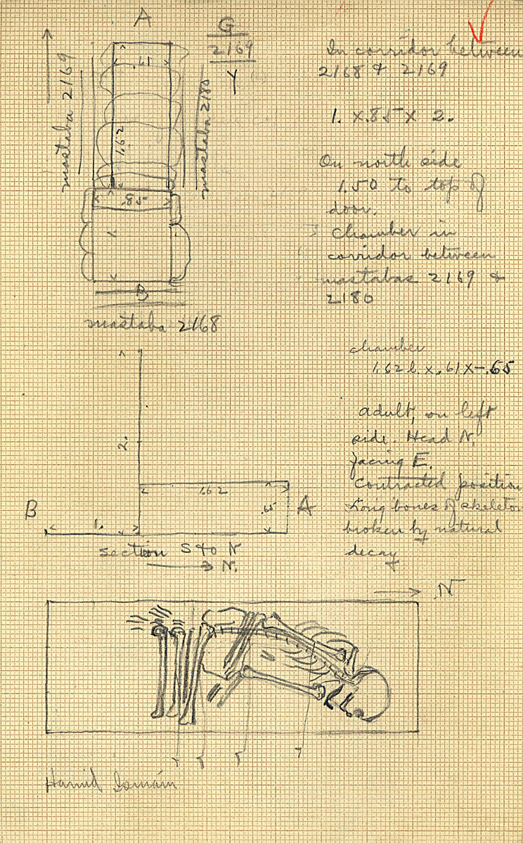 Maps and plans: G 2169, Shaft Y