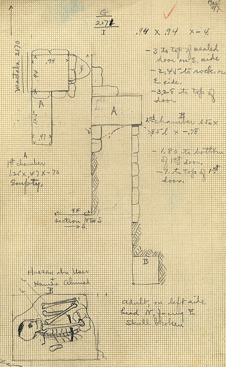 Maps and plans: G 2171, Shaft I