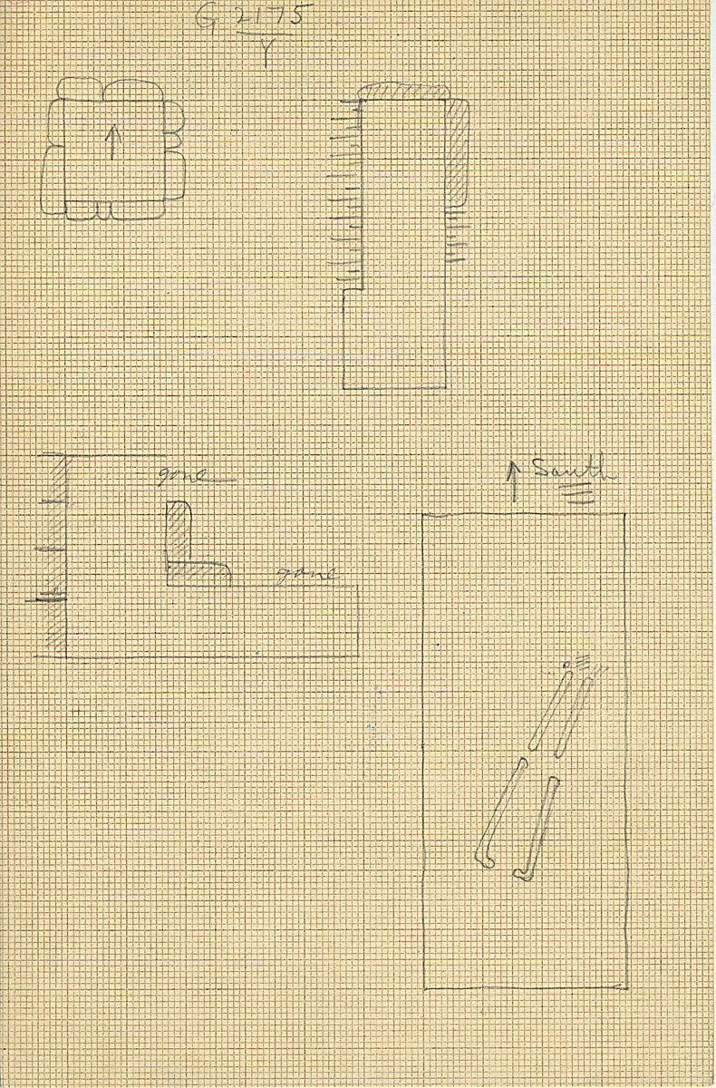 Maps and plans: G 2175, Shaft Y