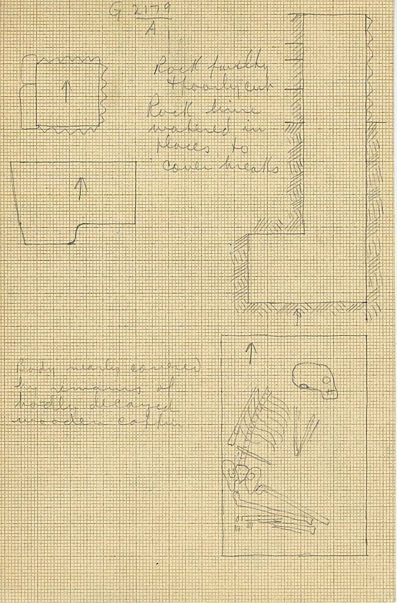 Maps and plans: G 2179, Shaft A