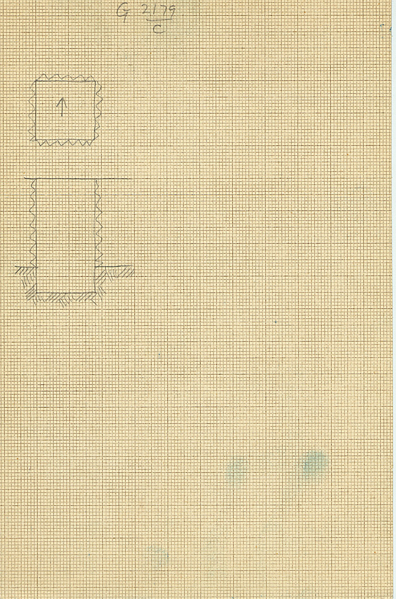 Maps and plans: G 2179, Shaft C
