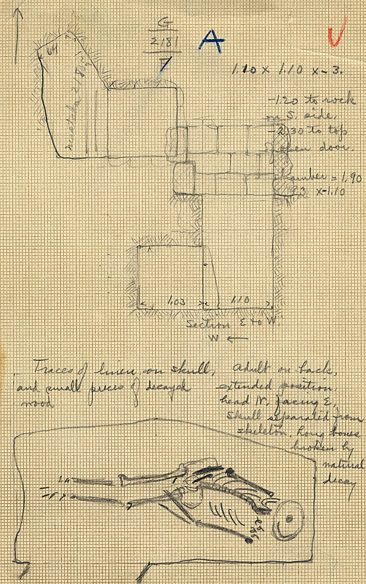 Maps and plans: G 2181, Shaft A