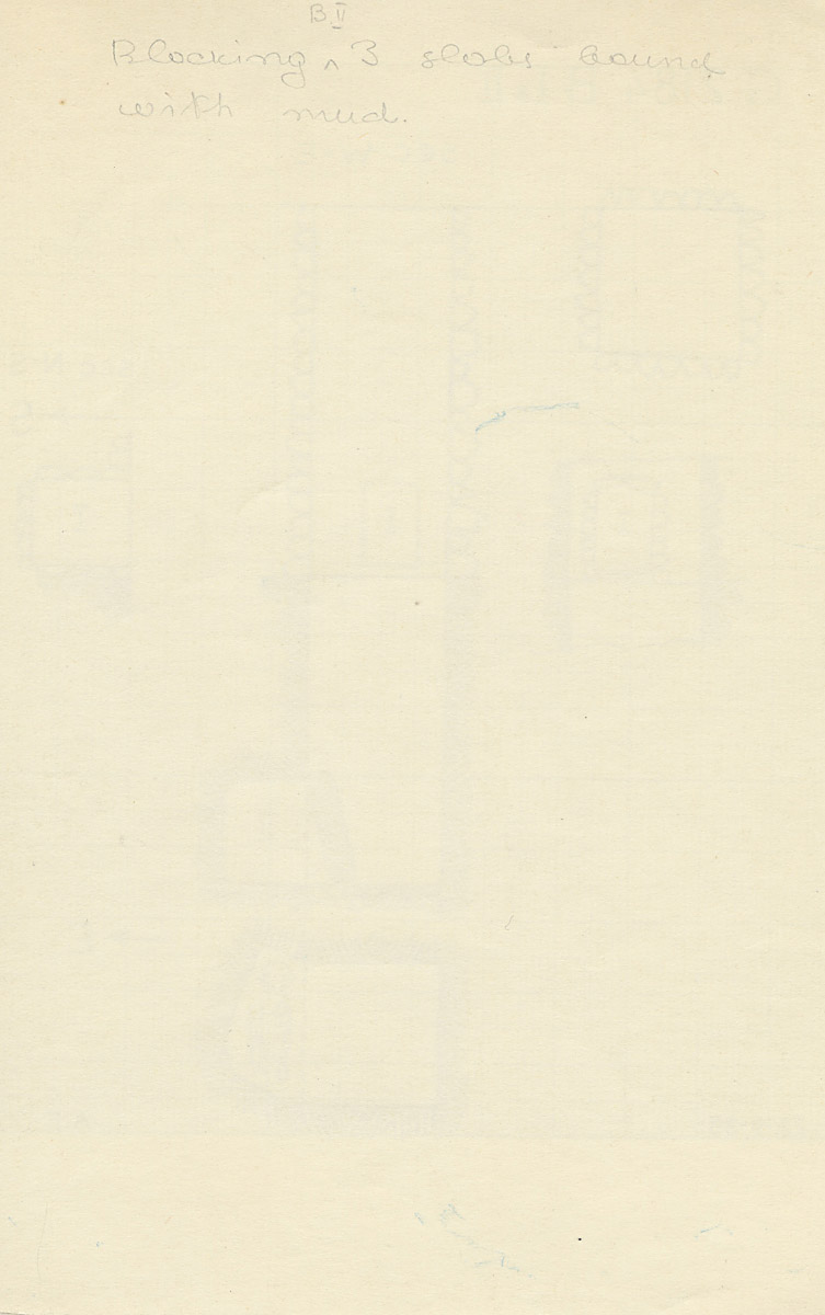 Notes: G 2184, Shaft B (I & II), notes