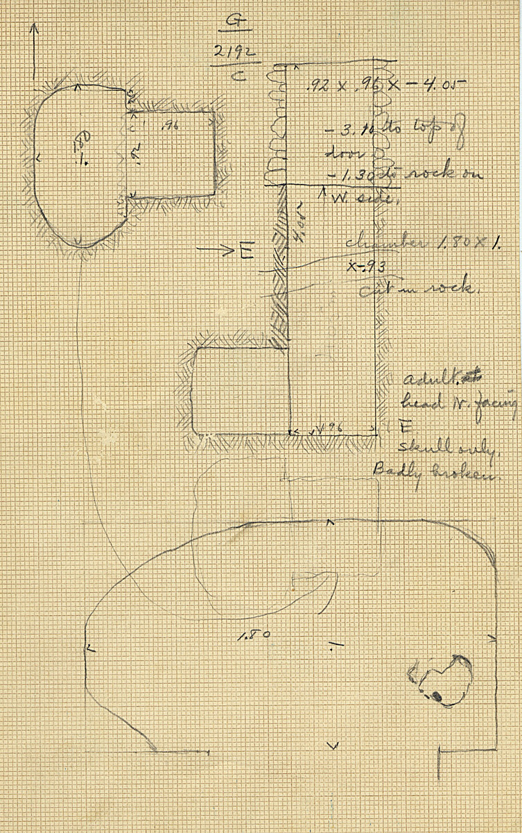 Maps and plans: G 2192, Shaft C
