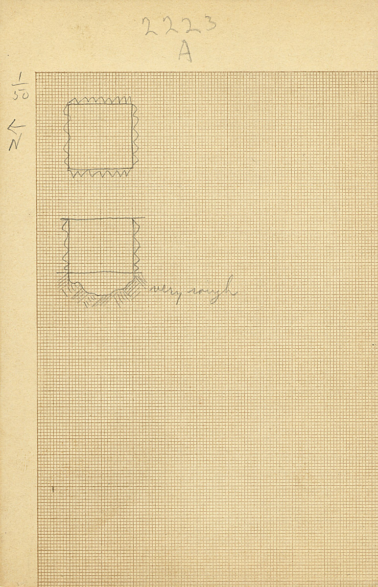 Maps and plans: G 2223, Shaft B