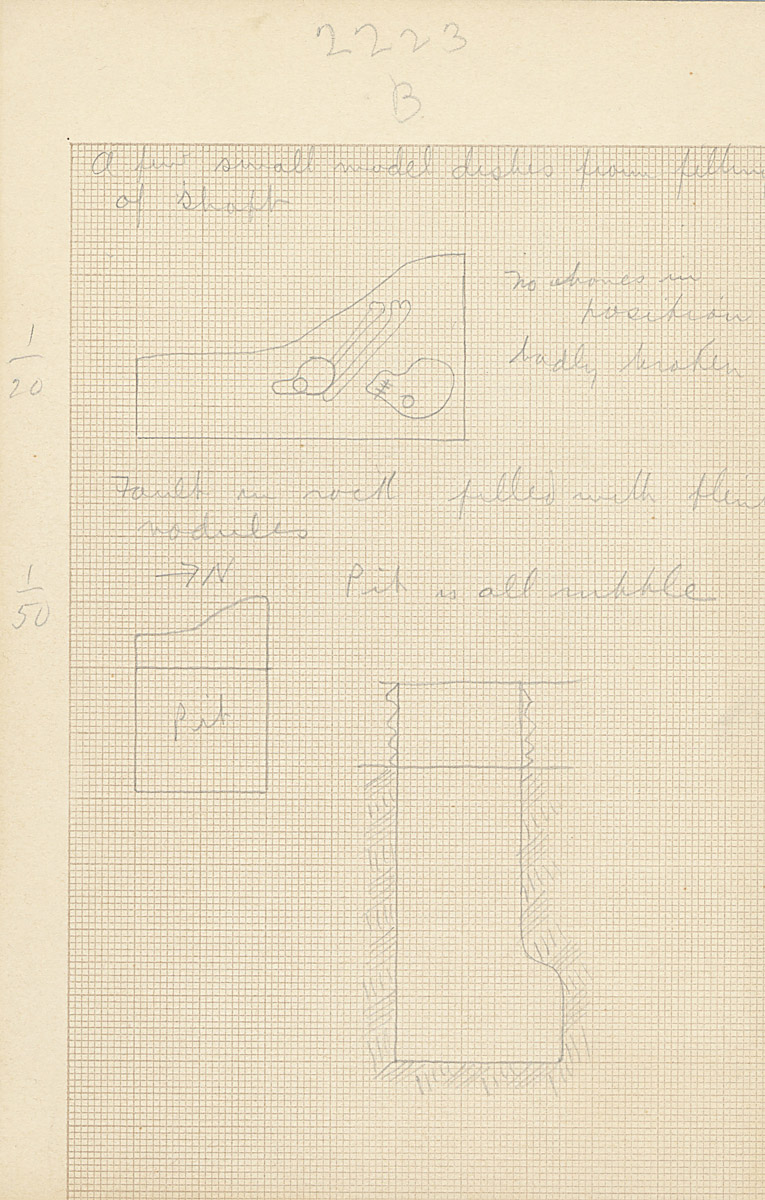 Maps and plans: G 2223, Shaft A