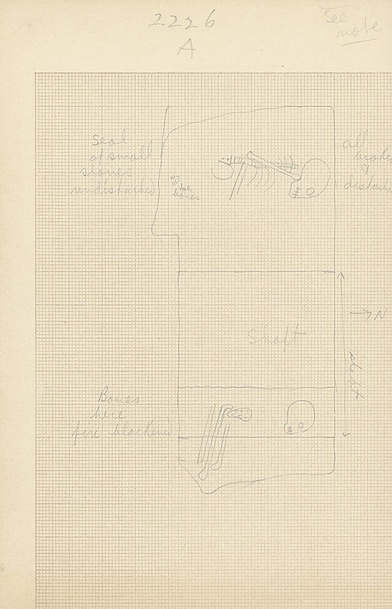 Maps and plans: G 2226, Shaft A
