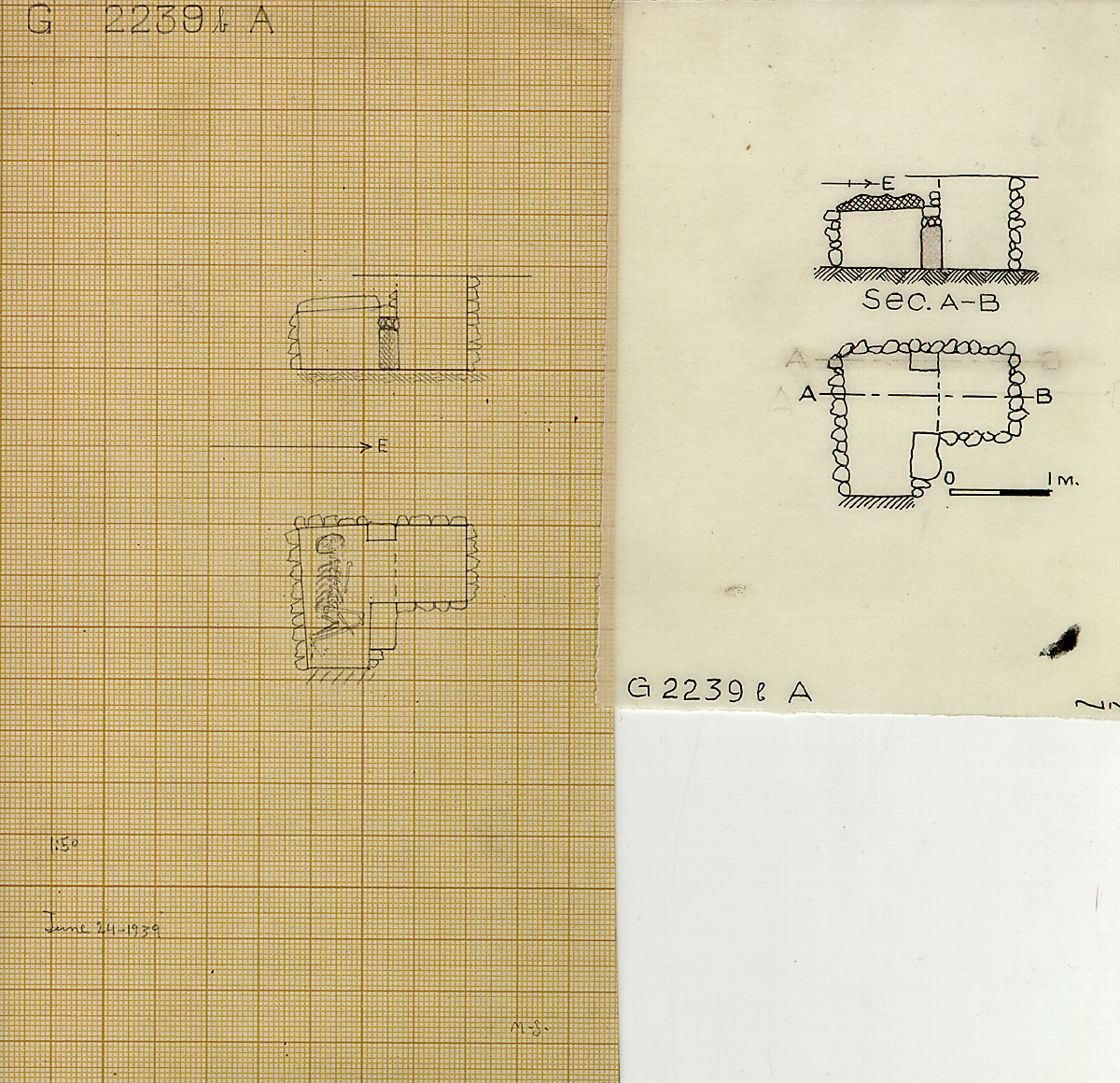 Maps and plans: G 2239b, Shaft A