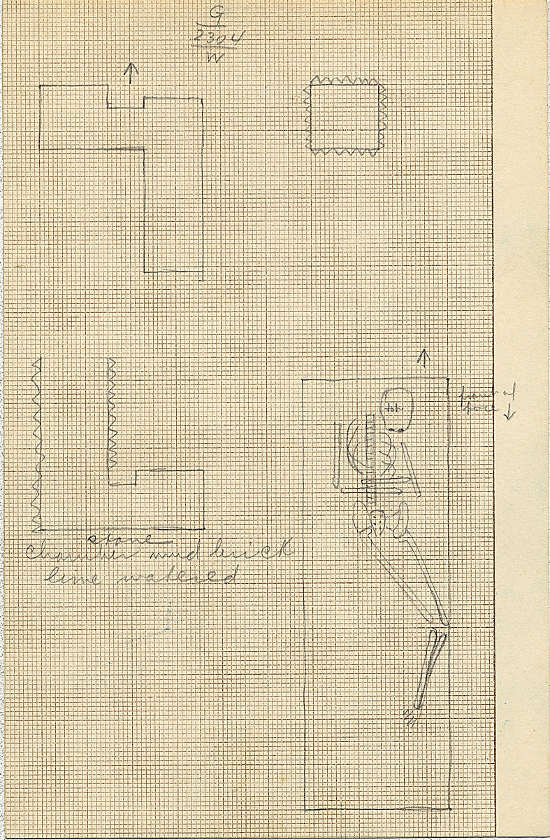Maps and plans: G 2304, Shaft W