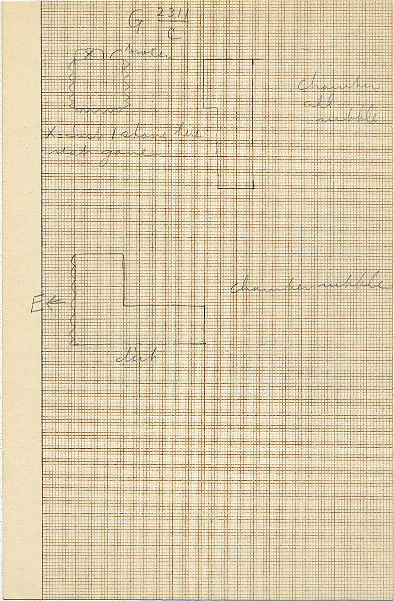 Maps and plans: G 2311, Shaft C