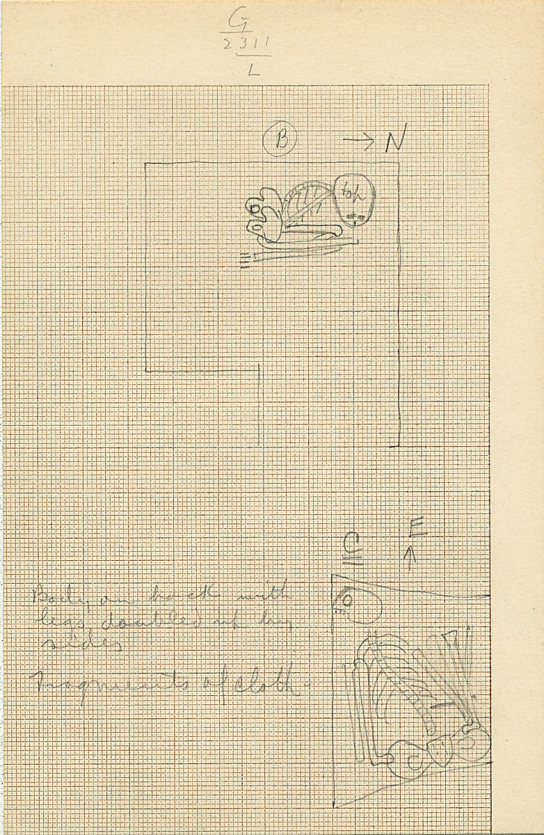 Maps and plans: G 2311, Shaft L