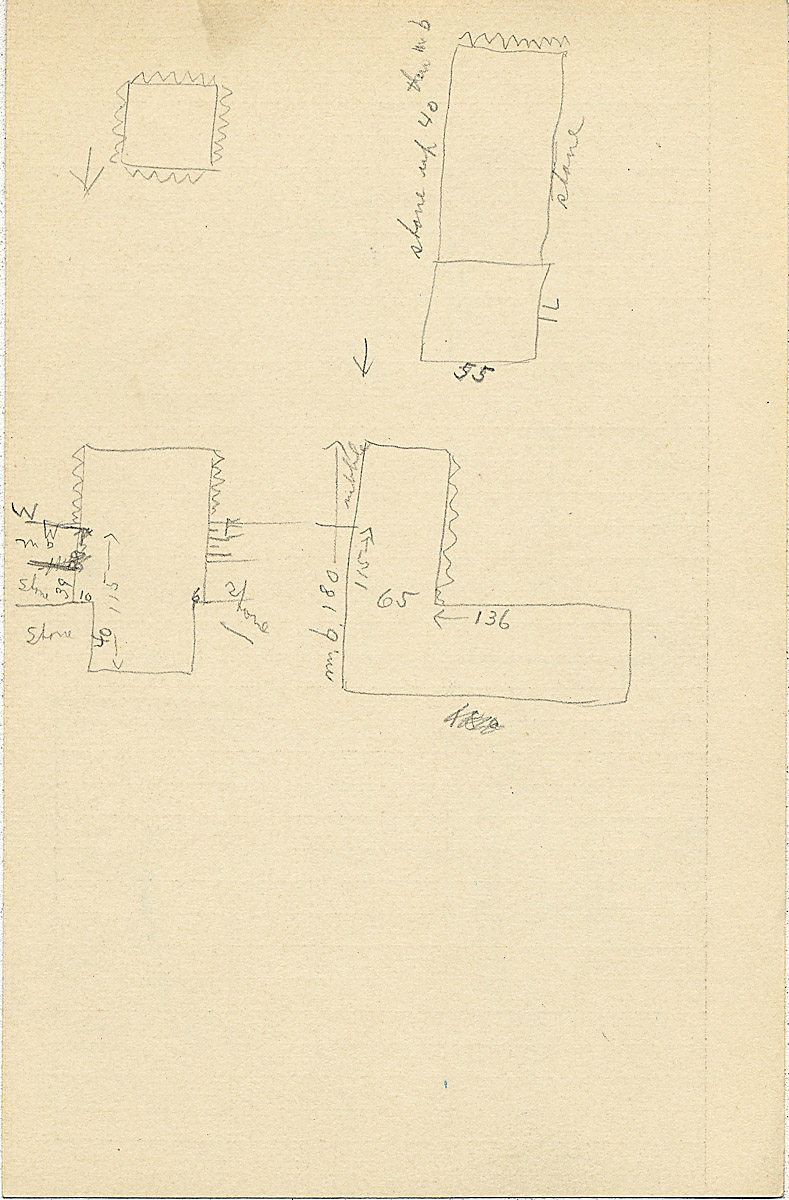 Maps and plans: G 2311, Shaft N, notes