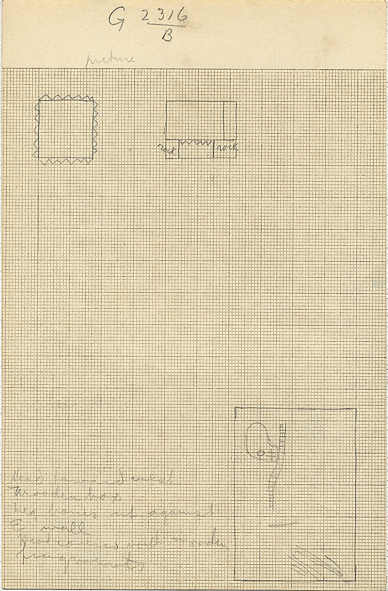 Maps and plans: G 2316, Shaft B