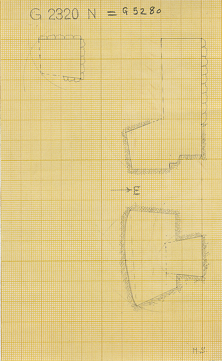 Maps and plans: G 2320 = G 5280, Shaft N
