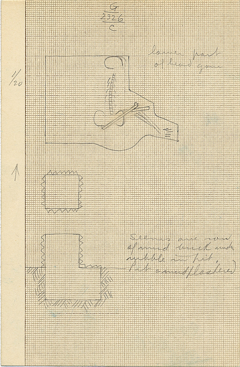 Maps and plans: G 2326, Shaft C