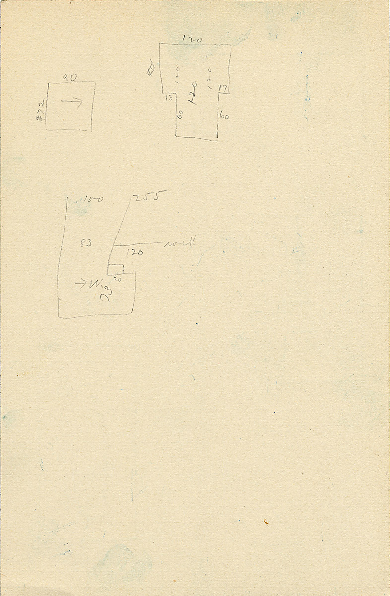 Maps and plans: G 2327, Shaft A, notes