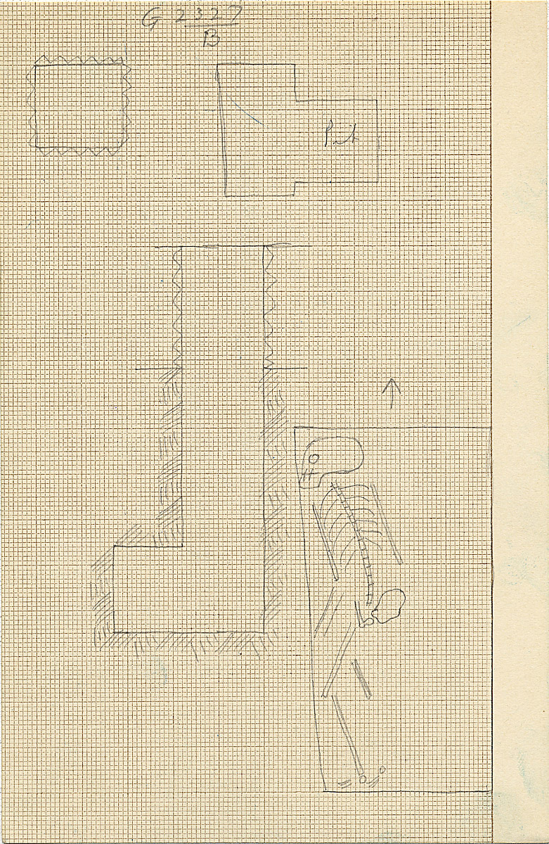 Maps and plans: G 2327, Shaft B