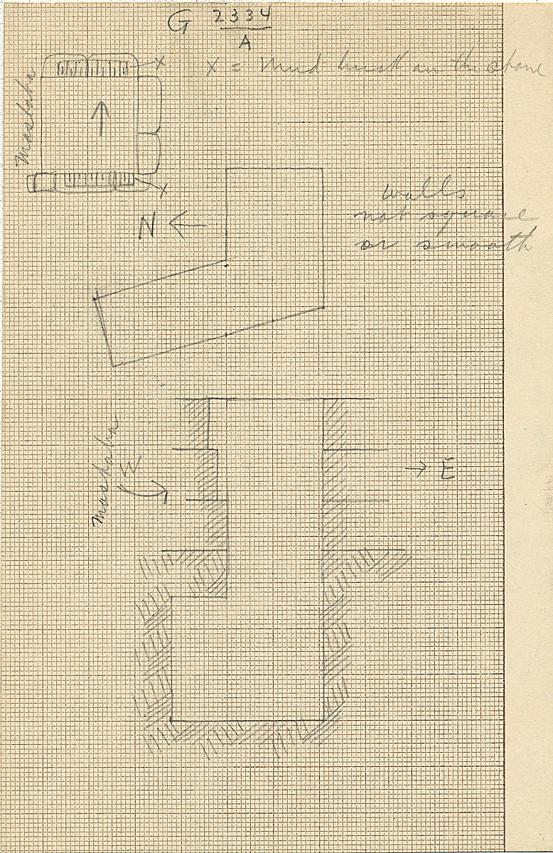 Maps and plans: G 2334, Shaft A
