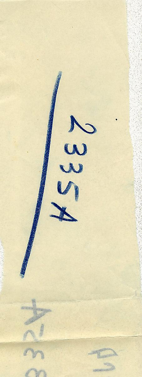 Notes: G 2335, Shaft A