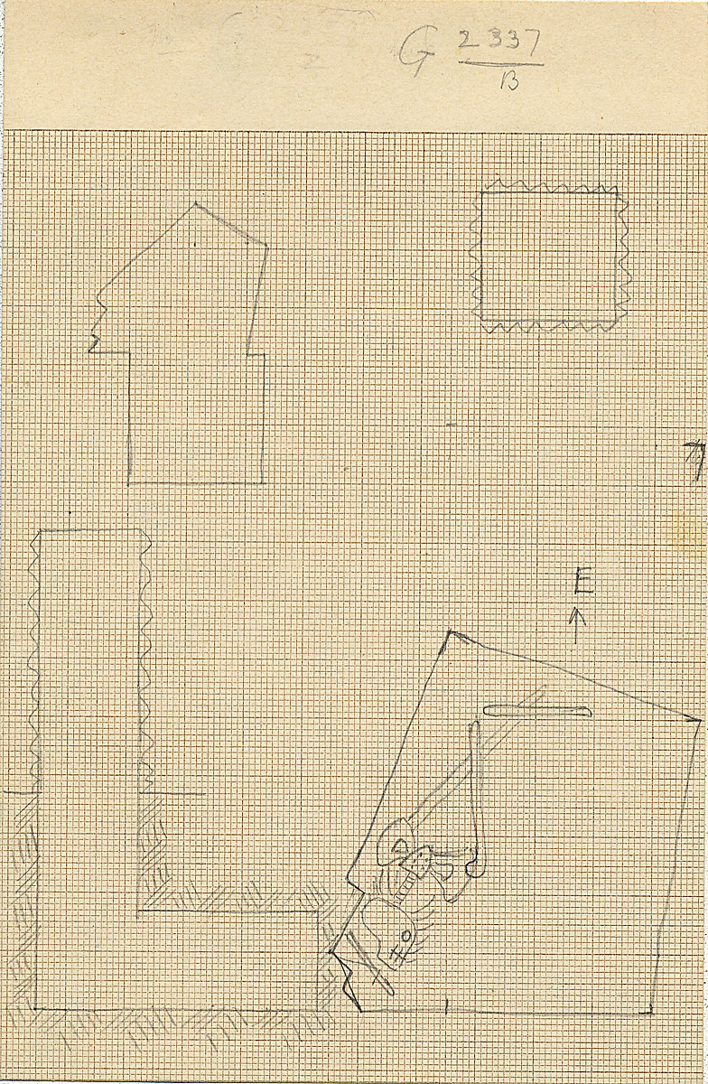 Maps and plans: G 2337, Shaft B