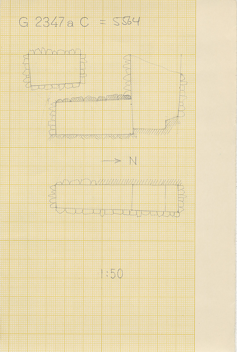 Maps and plans: G 2347a C = G 5564, Shaft A