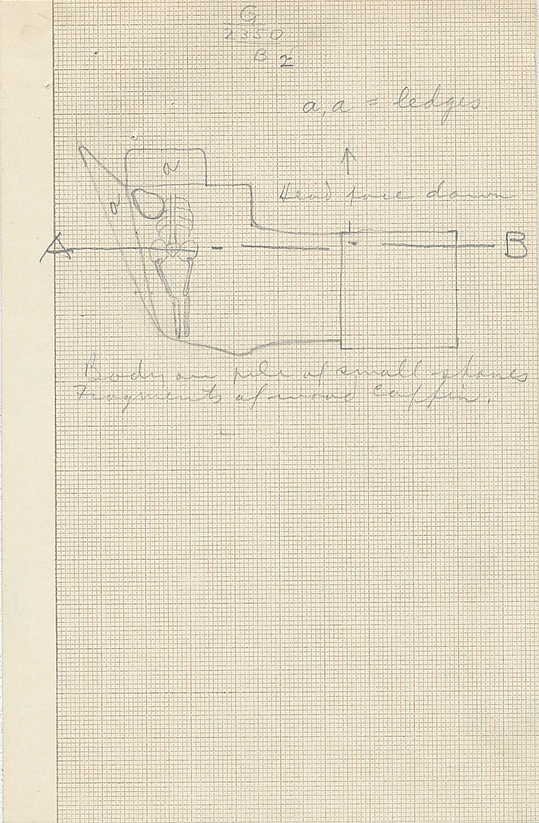 Maps and plans: G 2350 = G 5290, Shaft B2