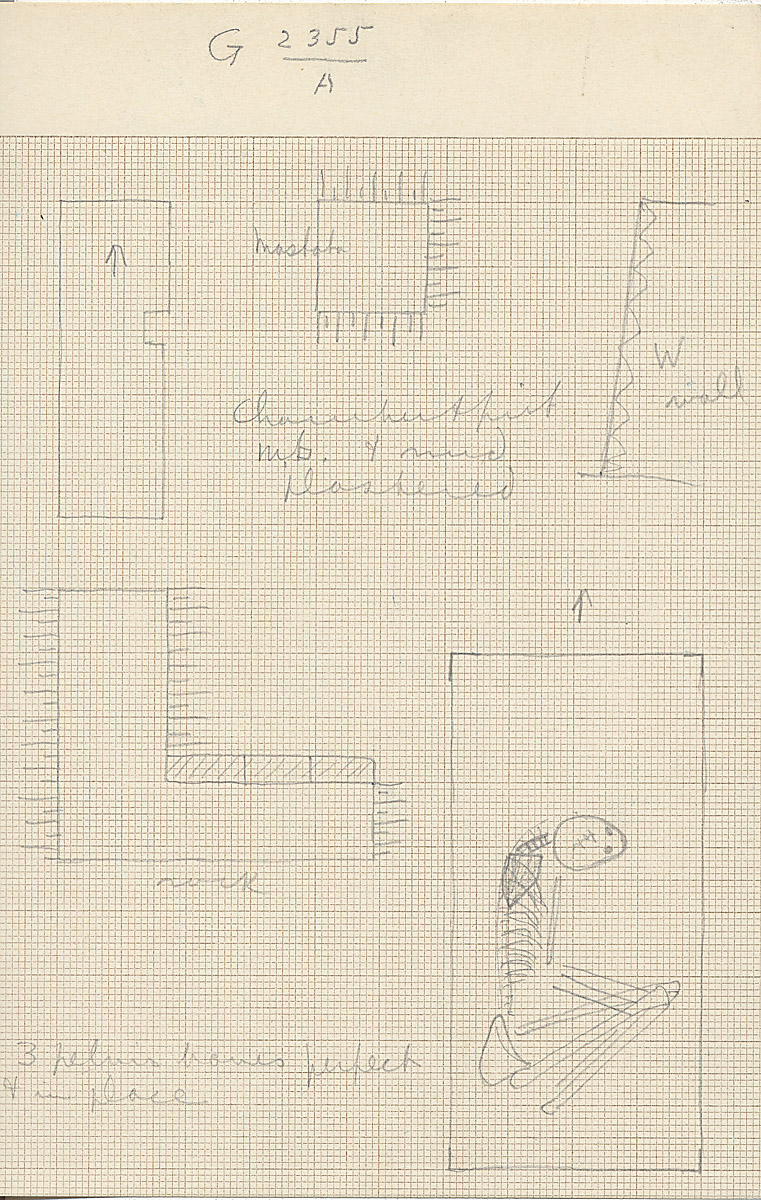 Maps and plans: G 2355, Shaft A