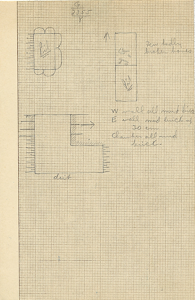 Maps and plans: G 2355, Shaft Y