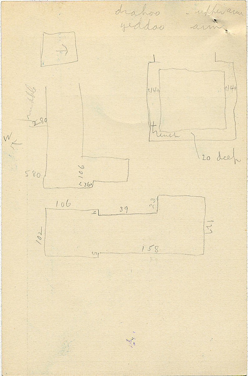 Maps and plans: G 2360, Shaft F, notes