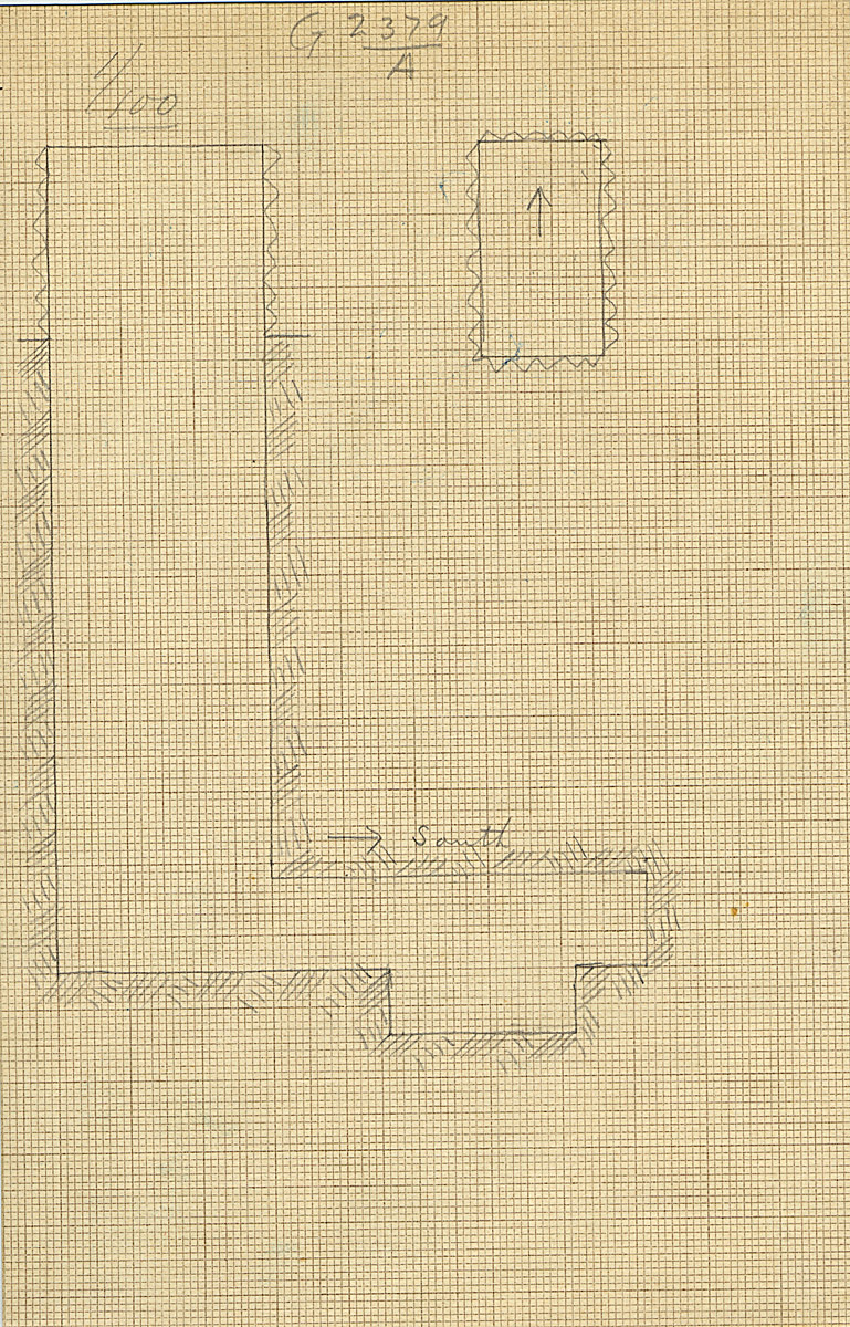 Maps and plans: G 2379, Shaft A