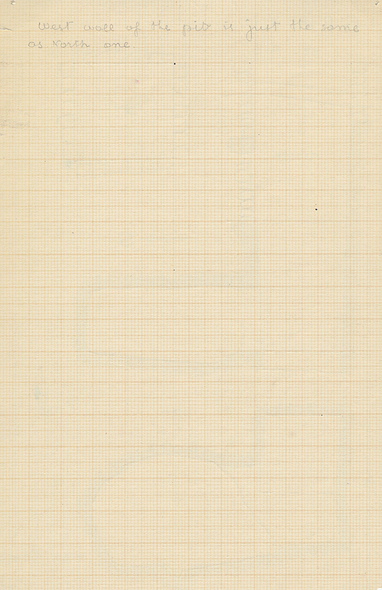 Notes: G 2381, Shaft X (I), notes