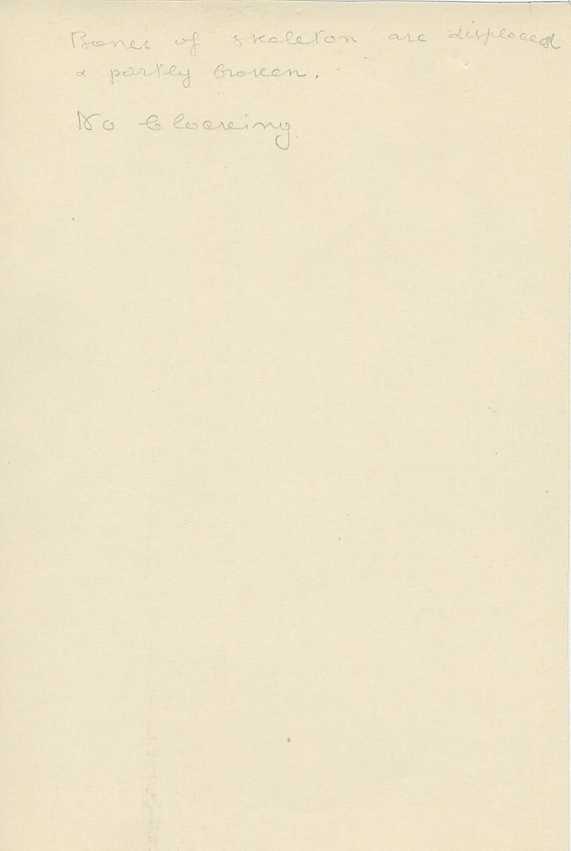 Notes: G 2391, Shaft B, notes