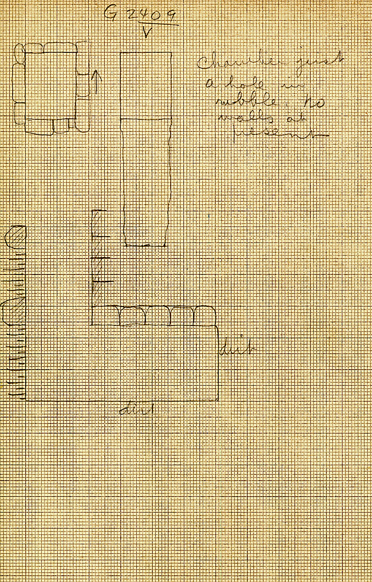 Maps and plans: G 2407, Shaft V (?)