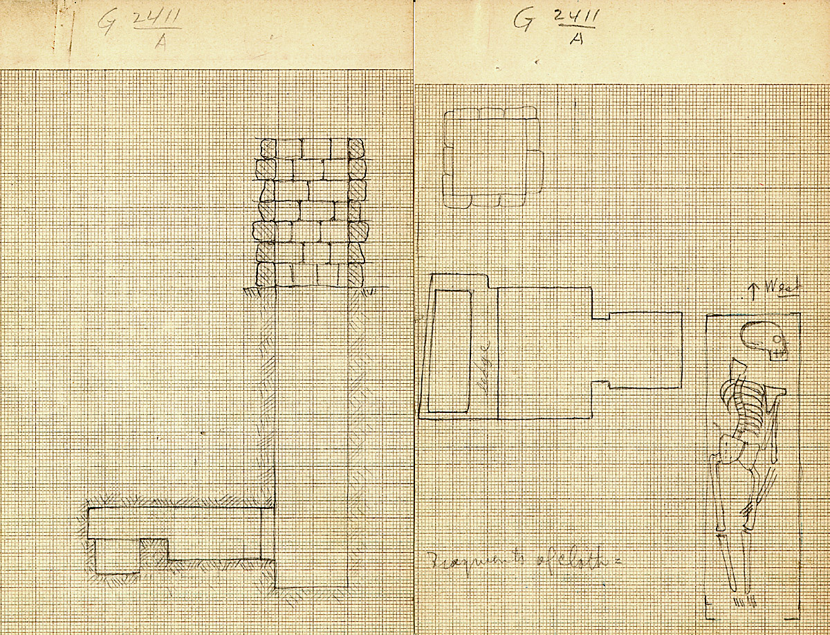 Maps and plans: G 2411, Shaft A