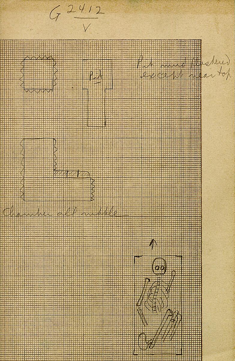 Maps and plans: G 2412, Shaft V