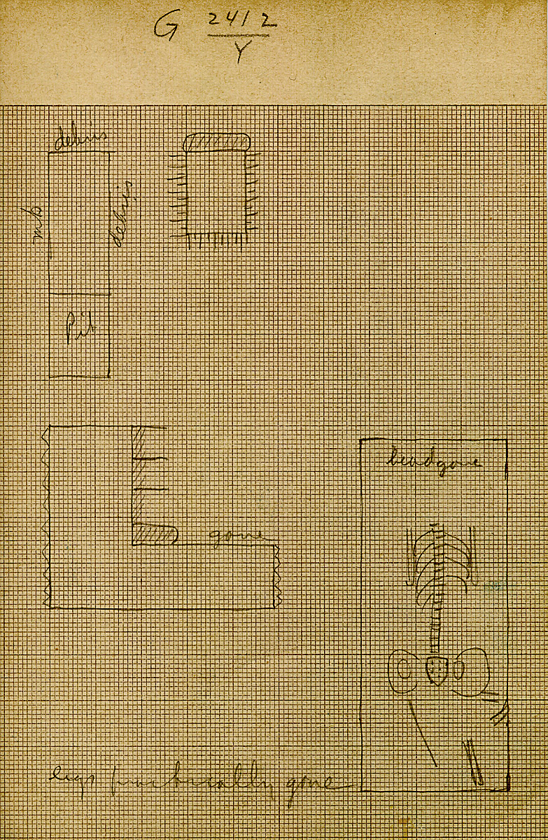Maps and plans: G 2412, Shaft Y