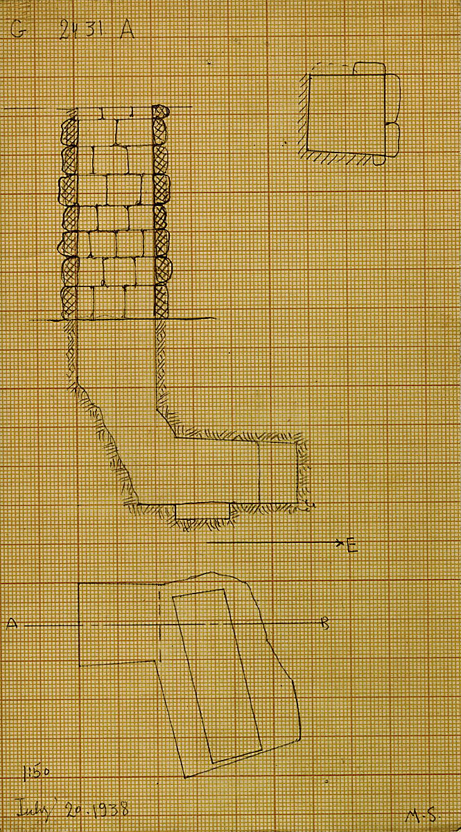 Maps and plans: G 2431, Shaft A