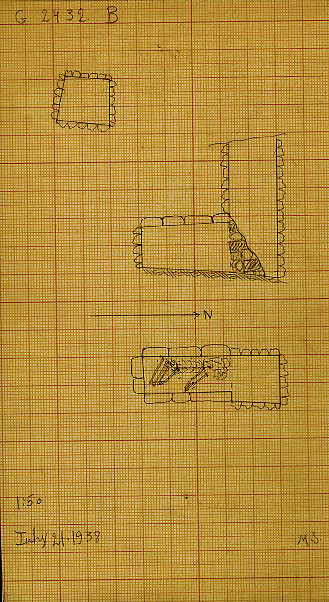 Maps and plans: G 2432, Shaft B