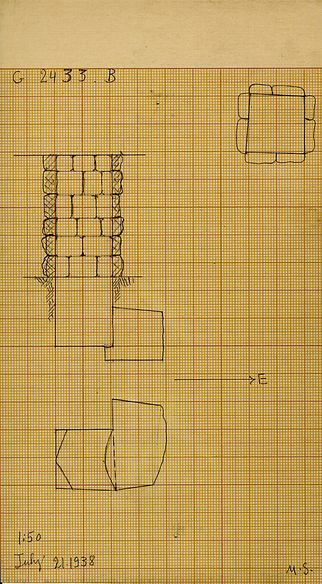 Maps and plans: G 2433, Shaft B