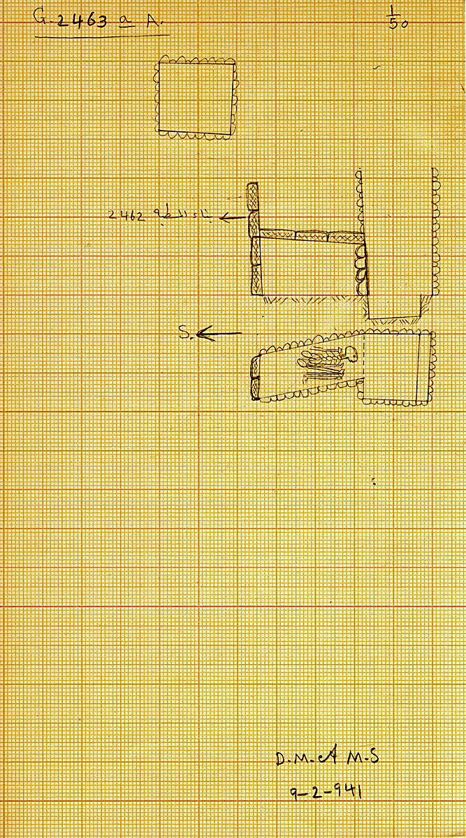Maps and plans: G 2463a, Shaft A