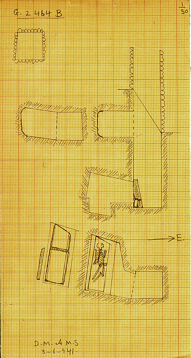 Maps and plans: G 2464, Shaft B