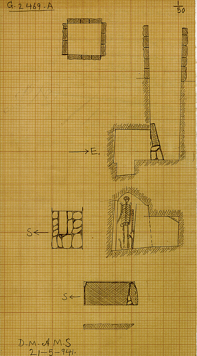 Maps and plans: G 2469, Shaft A