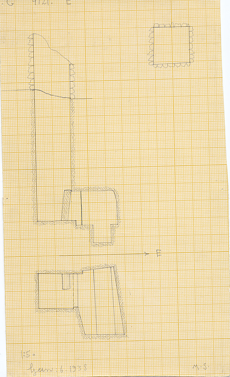 Maps and plans: G 4121, Shaft E