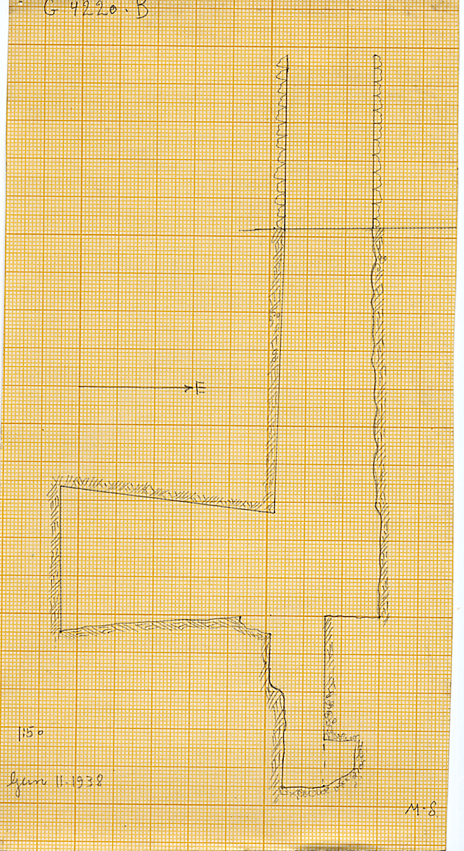 Maps and plans: G 4220, Shaft B