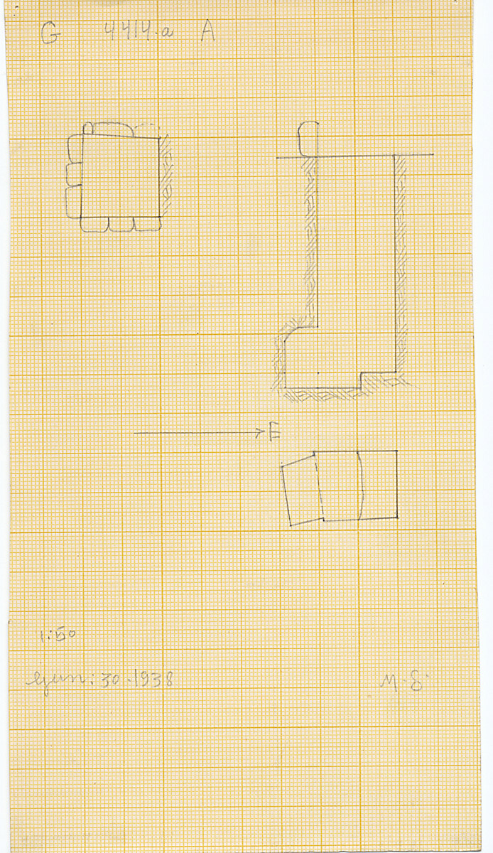 Maps and plans: G 4414a, Shaft A