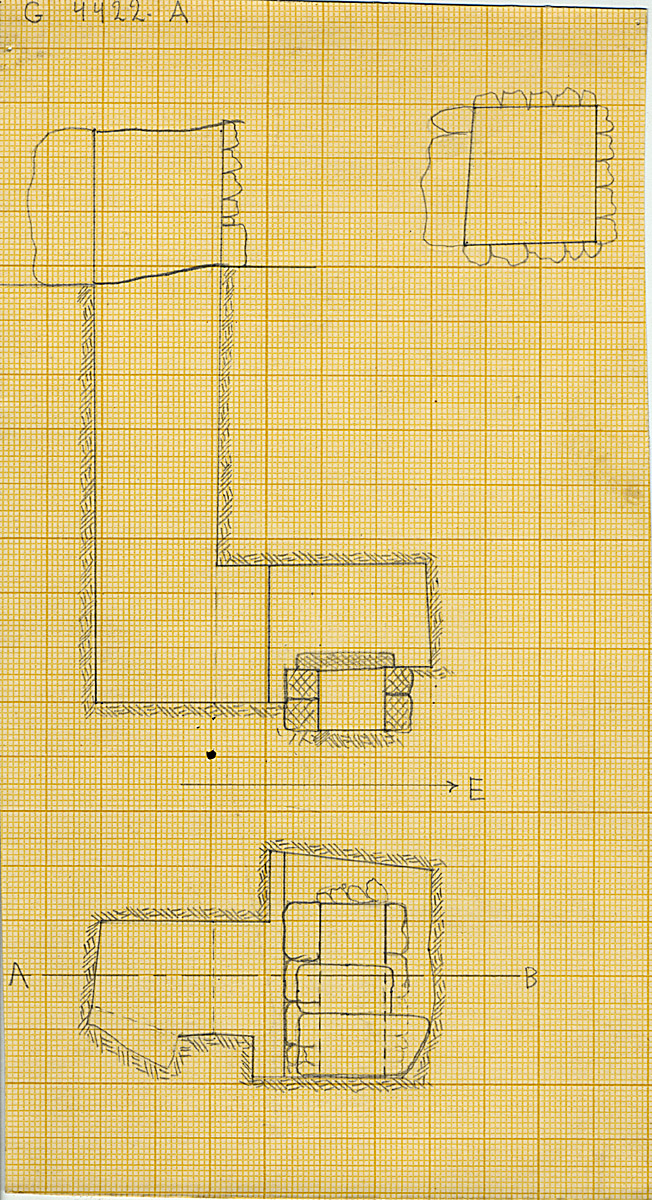 Maps and plans: G 4422, Shaft A