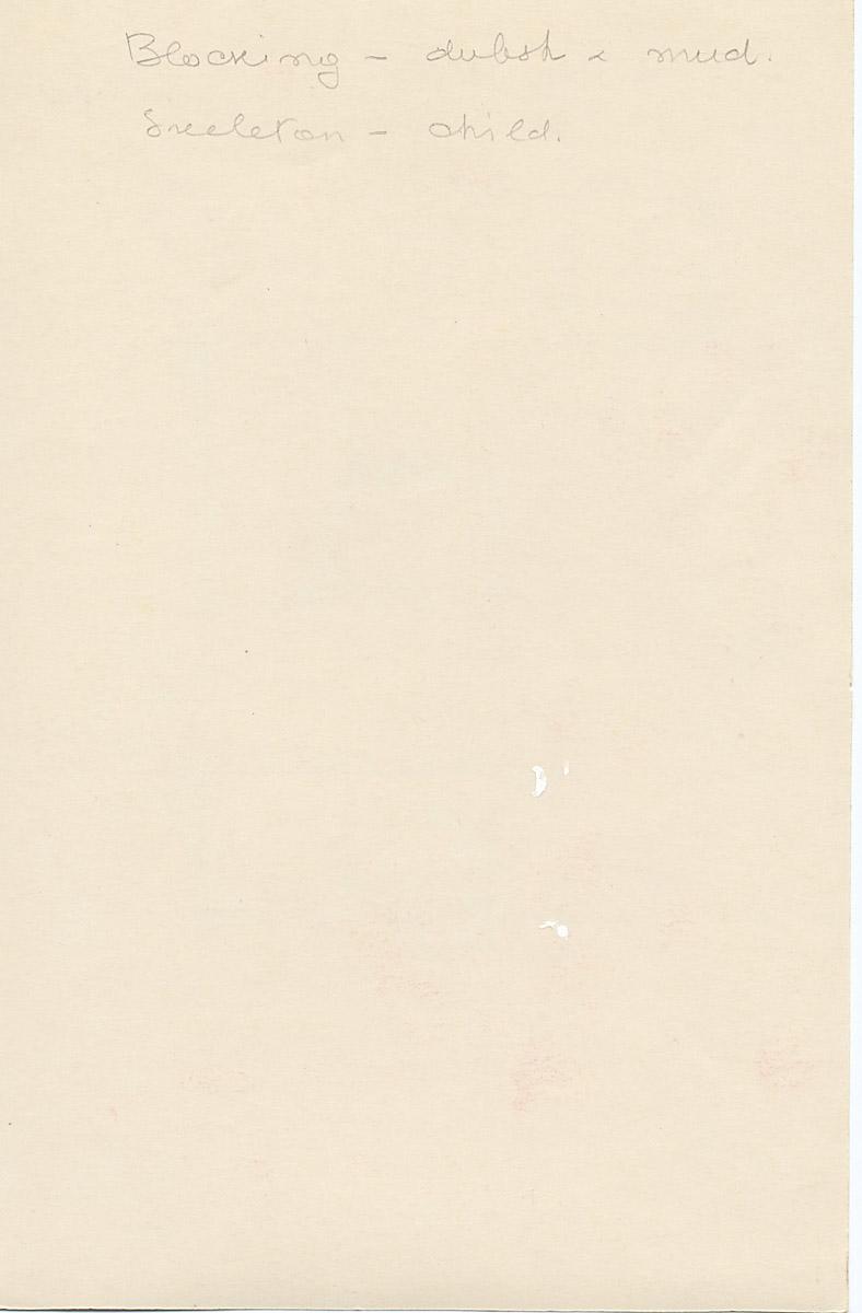 Notes: G 4514, Shaft D, notes