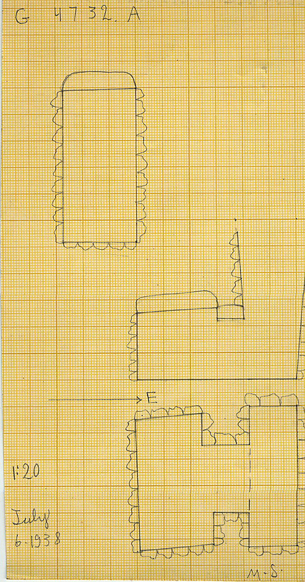 Maps and plans: G 4732, Shaft A