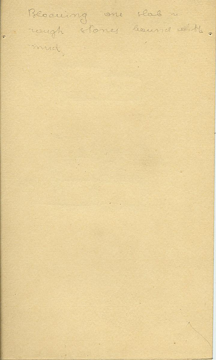 Notes: G 5031, Shaft A